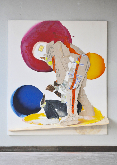 Maurice Thomassen, 'Feuilleton : Protest', 2015, Mixed Media, Mixed media on canvas, NL=US Art