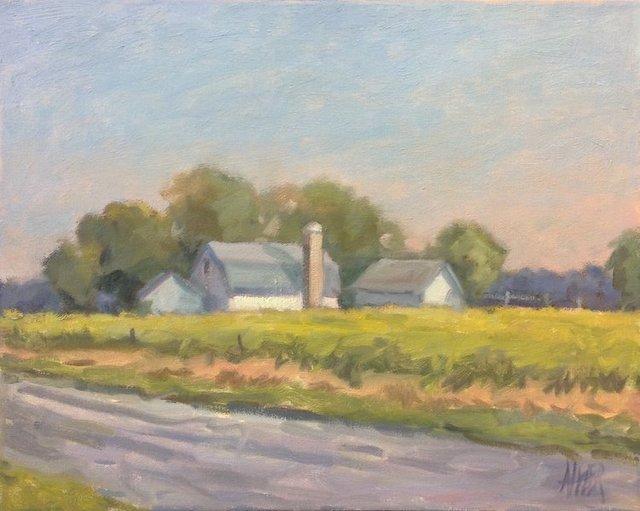 Jane D'Angelo, 'Roadside Farm', 2019, Vivid Art Gallery