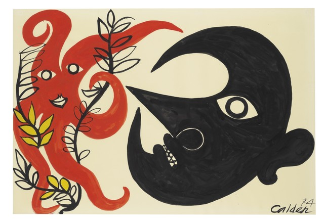 , 'Curly Star and Moon,' 1974, Galerie Natalie Seroussi