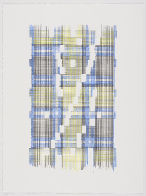 Laura Kaufman, 'Up Energy Scale Two (Plaid)', 2018, MARQUEE PROJECTS