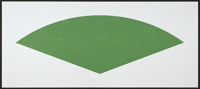 , 'Green Curve,' 1988, William Shearburn Gallery