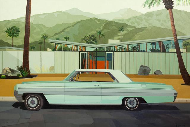 ", '""Car in Front of Alexander House"",' 2018, Bonner David Galleries"