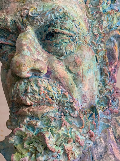 Debra Balchen, 'Father Forest', 2020, Sculpture, Fired earth hand painted, 33 Contemporary