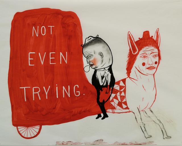 , 'Not Even Trying,' 2016, Koplin Del Rio