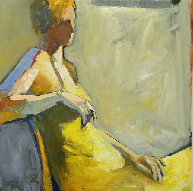 , 'Yellow Dress,' 2015, Seager Gray Gallery