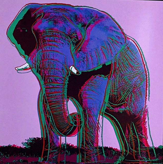 Andy Warhol, 'Elephant for Art Basel', 1987, Alpha 137 Gallery Gallery Auction