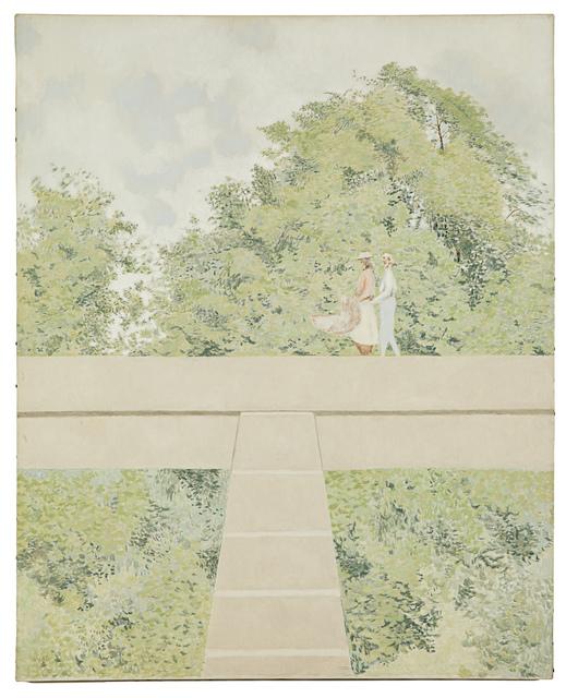 , 'Walkers on Bridge,' 1969, Fleisher/Ollman
