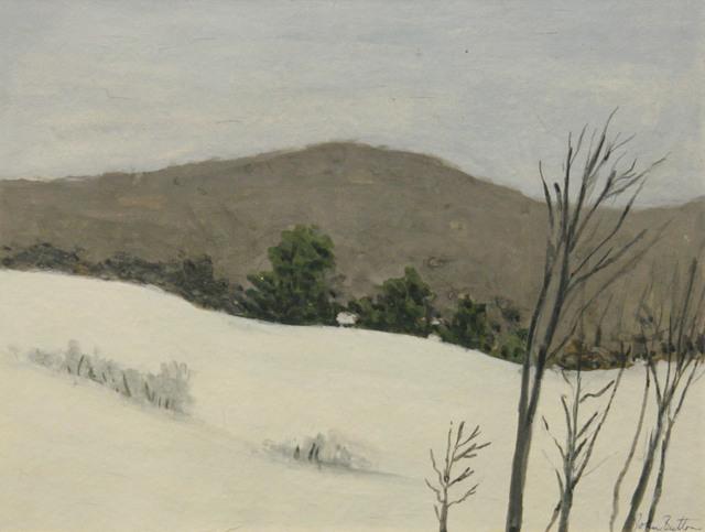 John Button, 'Winter, Upstate New York', ClampArt