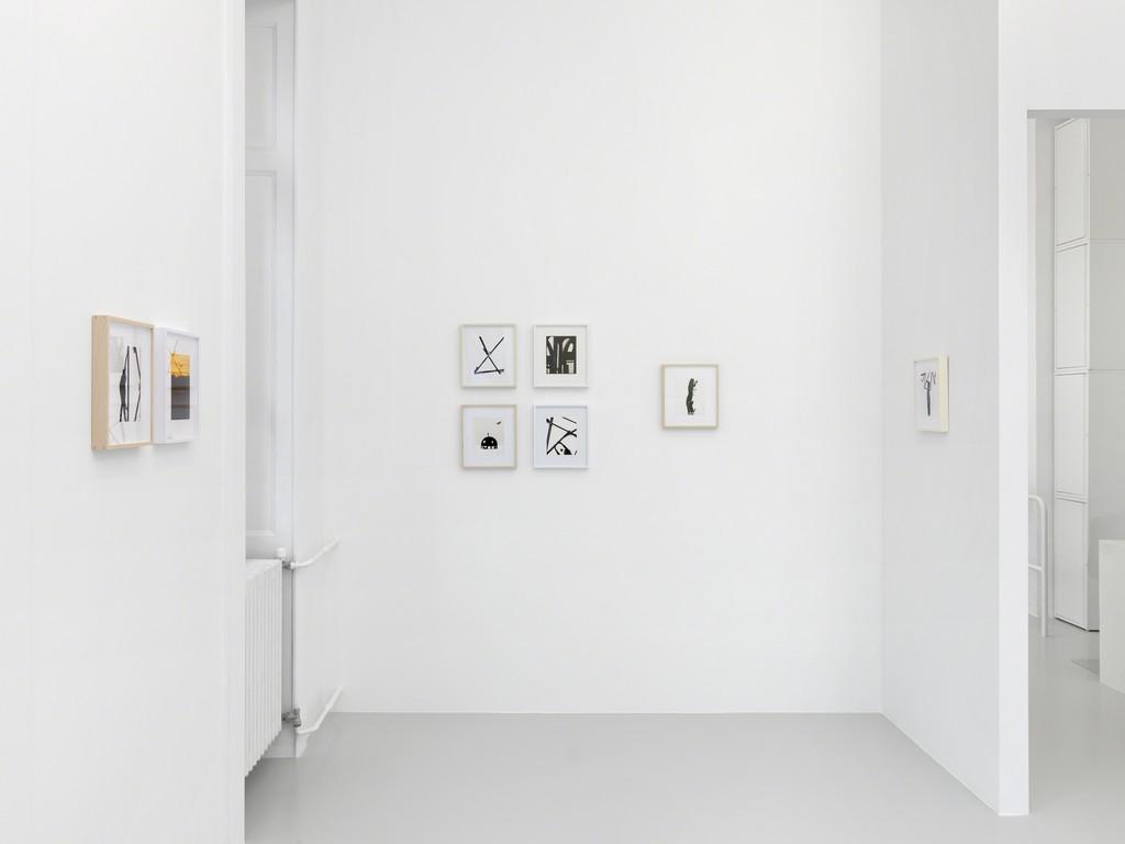 "Vue d'exposition, Matthew Porter, ""The Sheen, The Shine"", 2019, Xippas, Genève, Suisse. ©Annik Wetter"