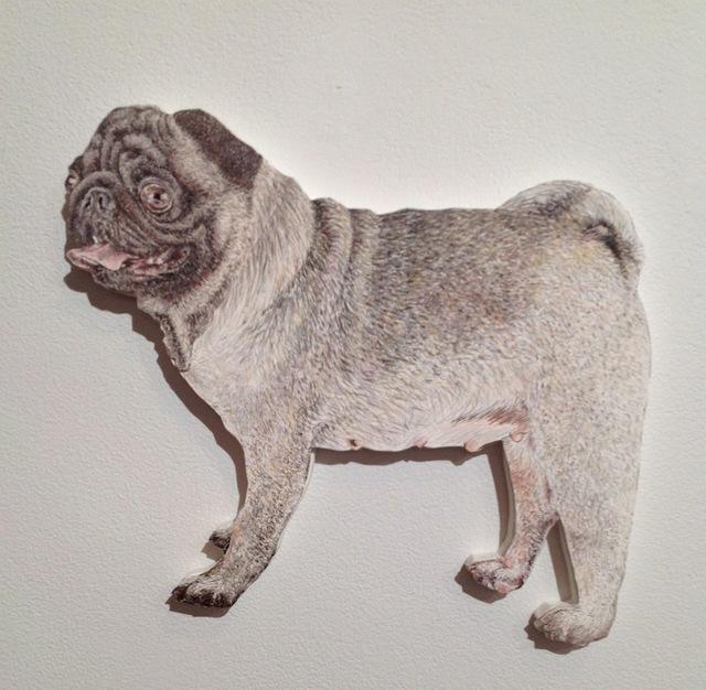 Craig Norton, 'Dog (Pug)', 2013, Jim Kempner Fine Art