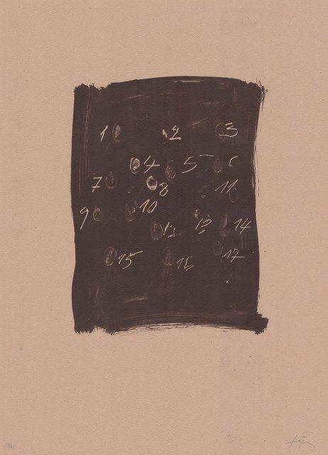 Antoni Tàpies, 'Llambrec material III', 1970-1980, ARTEDIO