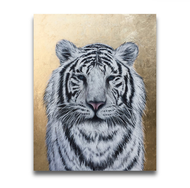 , 'White Tiger,' 2017, Impact Art Gallery