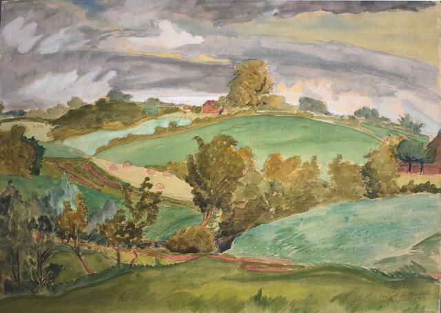 , 'Hills in Angeln | Hügel in Angeln,' 1941, Gilden's Art Gallery
