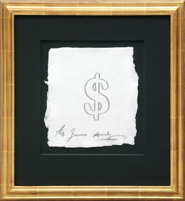 Andy Warhol, 'Dollar Sign', 1978, Peter Harrington Gallery