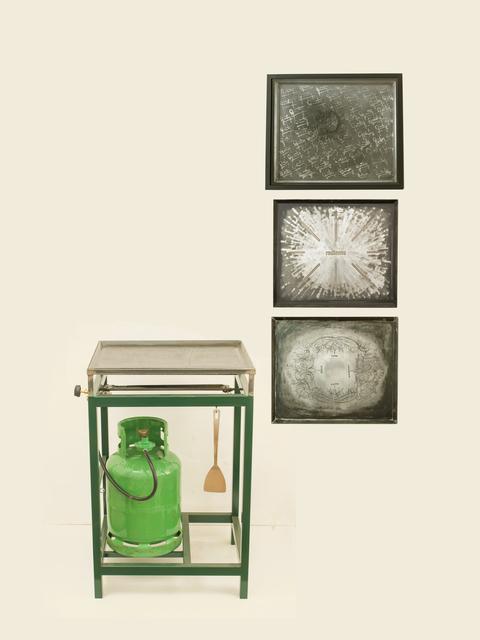 , 'Objeto autoconsumible (Biografía) / Self-Consumable Object (Biography),' 2015-2017, EL GRAN VIDRIO