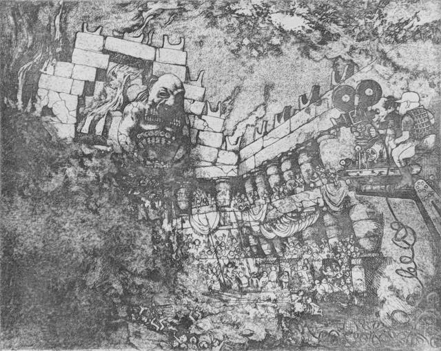 Charles Bragg, 'READY CB', Unknown, Print, ETCHING, Gallery Art