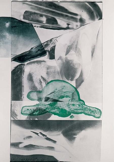 Robert Rauschenberg, 'Gulf', 1969, Lithograph, Robert Rauschenberg Foundation
