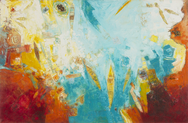 , 'The Sea 1,' 2006, Hafez Gallery