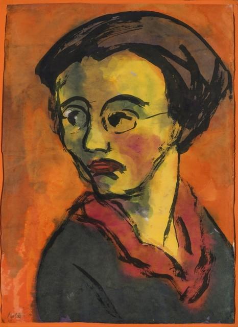 , 'Portrait - Johanna Schiefler,' 1920, Galerie Thomas