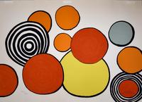 Alexander Calder, Composition II, from The Elementary Memory | La mémoire élémentaire