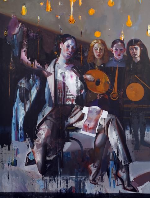 Rayk Goetze, 'Wucht', 2019, Josef Filipp Galerie