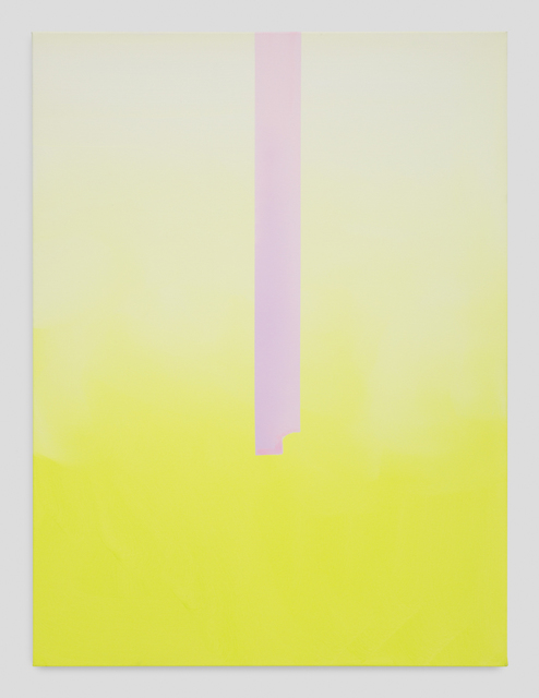 , 'In Absentia (Luminous Yellow-White-Lilac),' 2016, Night Gallery