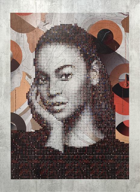 Tom Tor, 'Beyoncé', 2018, Print, Serigraph on melamine, Themes+Projects