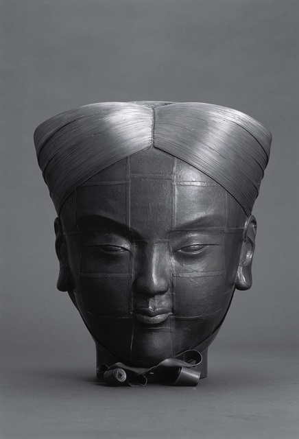 , 'An Attendant No.4 (Head),' 2009, Leo Gallery