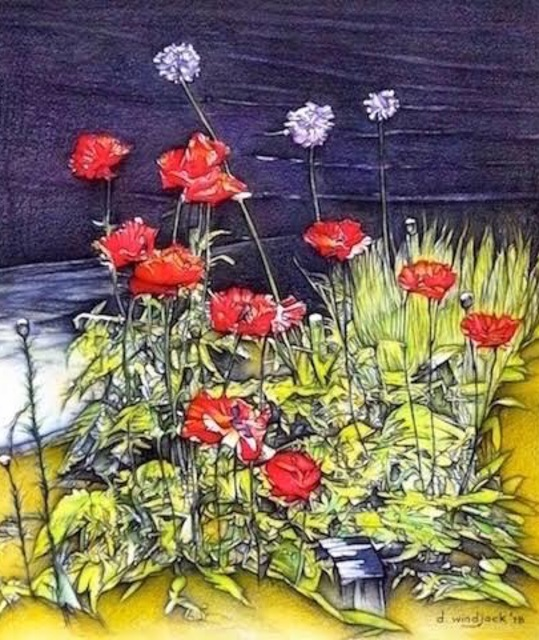 , 'Majestic Poppies ,' 2018, Lotus Art Gallery