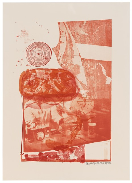 Robert Rauschenberg, 'Ape (Stoned Moon)', 1970, Print, Lithograph, San Francisco Museum of Modern Art (SFMOMA)