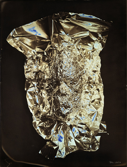 , 'TIN FOIL MASK SELF PORTRAIT,,' 2016, Greg Kucera Gallery