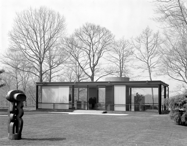 , 'The Glass House, New Canaan, Connecticut, (Phillip Johnson, Architect),' 1984, Edward Cella Art and Architecture