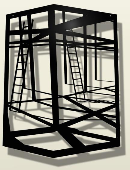 , 'A través del volumen II,' 2013, Art Nouveau Gallery