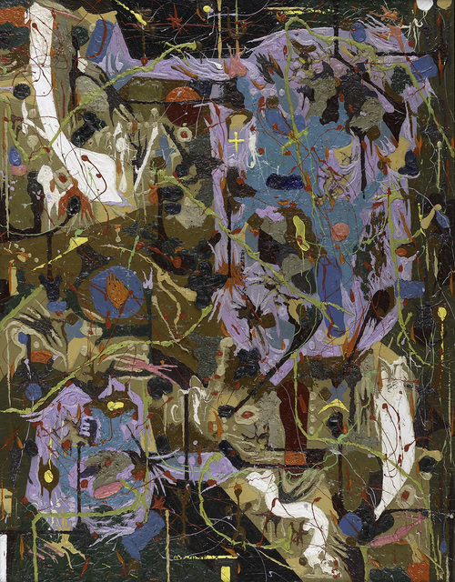 Alfonso Ossorio, 'Slow Dance and Staccato', 1955, Berry Campbell Gallery