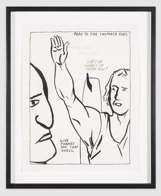 ", '""Pray to Chumash Gods"",' 1987, Scott White Contemporary Art"
