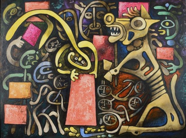 , 'Trojan Horse (Equestrian),' 1948, Caldwell Gallery Hudson