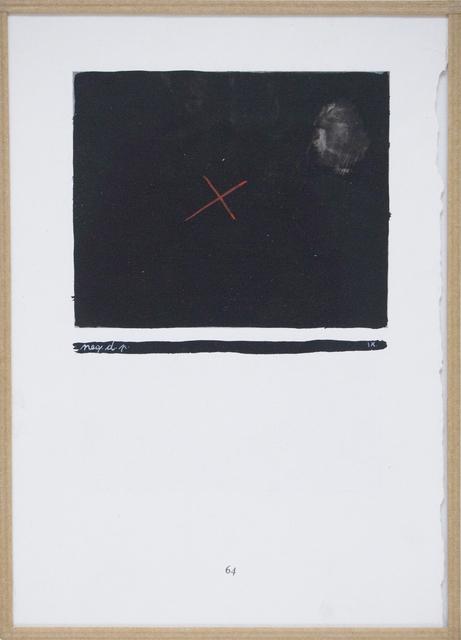 , 'Négation de la peinture (neg.d.p. IX), m.5,' 1951-1956, Aanant & Zoo