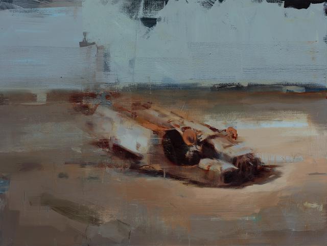 , 'Land and Carcass,' 2017, Lazinc