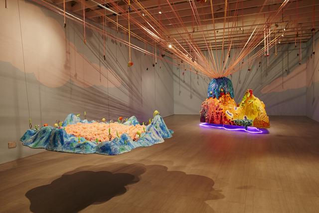 , 'Floating Mountain ,' 2013-2017, Singapore Art Museum (SAM)