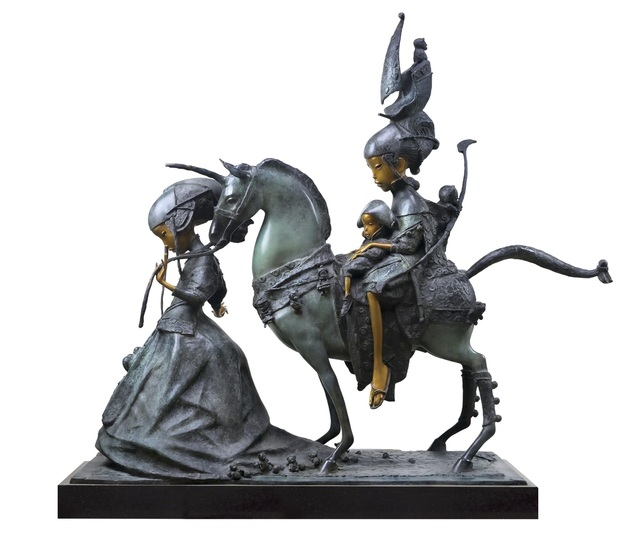 , 'Napoleon and Girls,' 2017, OSTASHOV sculpture