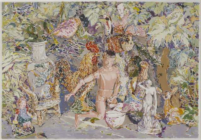 Viola Frey, 'China Goddess Painting', 1975, Artists' Legacy Foundation