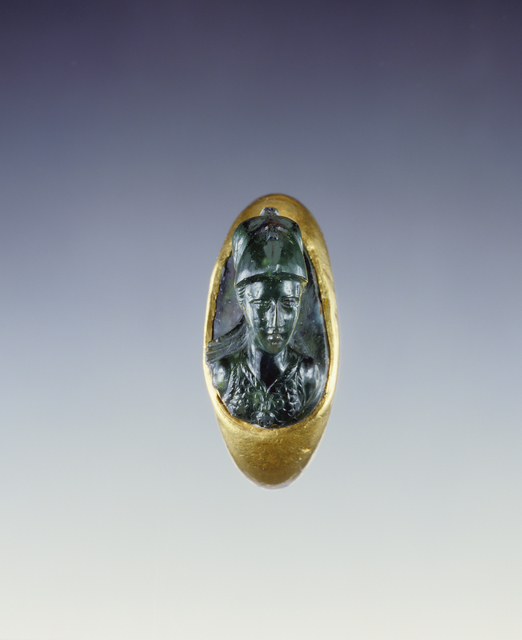 'Cameo Gem Set Into a Hollow Ring',  1st century, J. Paul Getty Museum