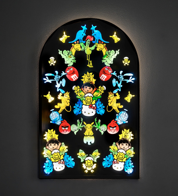 Jani Leinonen, 'Mascots', 2020, Sculpture, Stained glass, Zetterberg Gallery