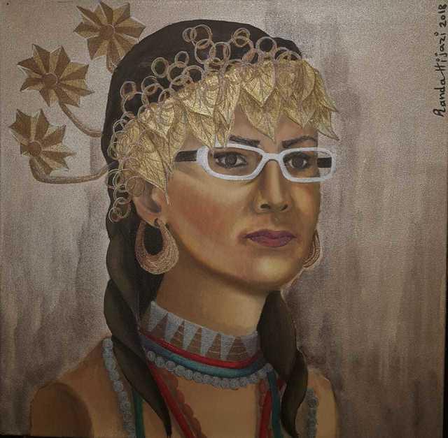 , 'انخدوانا - العراق / Enkhidwana (Akkadian princess) - Iraq,' 2018, Afkar Gallery