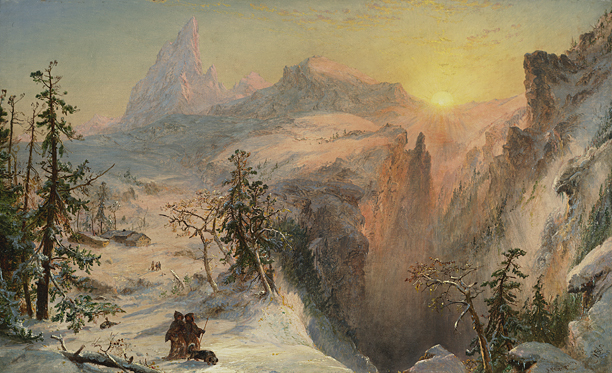 , 'Winter,' 1860, Questroyal Fine Art