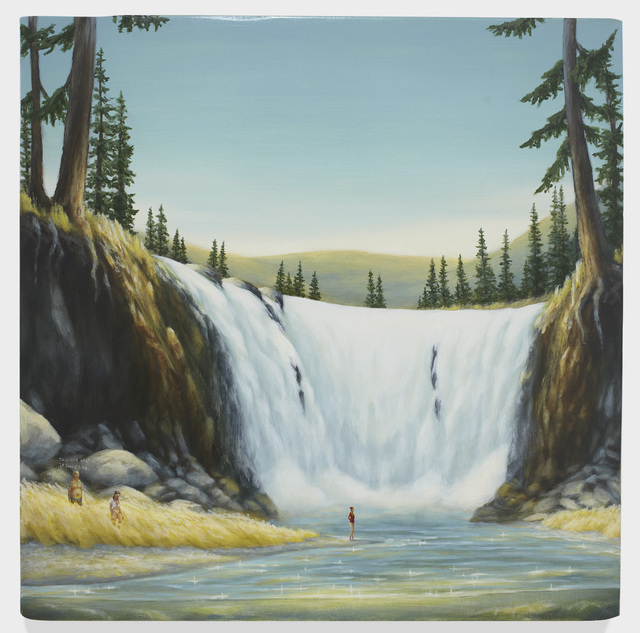 , 'Family at Waterfall 2,' 2016, Richard Heller Gallery
