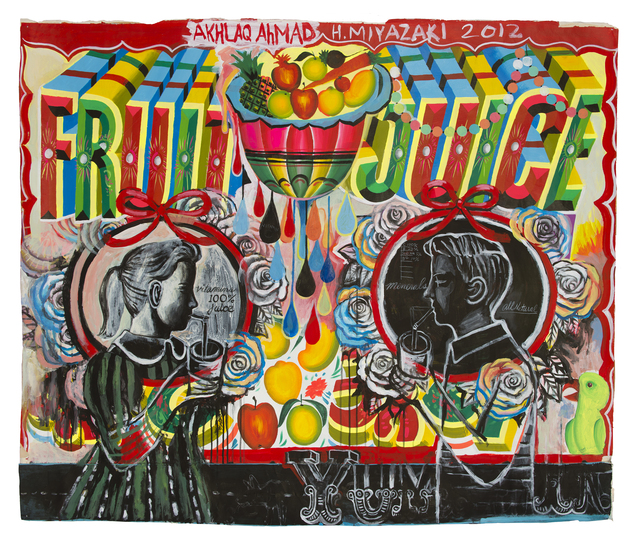, 'Fruit Juice Everybody Likes It,' 2012, ZINC contemporary