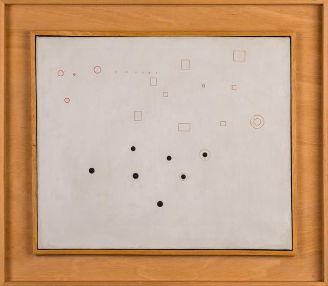 """, '""""Carrés et points"""",' ca. 1950, Galerie Dutko"""
