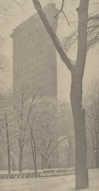 Alfred Stieglitz, 'Flatiron Building', 1903, Photography, Photogravure on Japanese tissue, mounted to board and then to paper, Jackson Fine Art