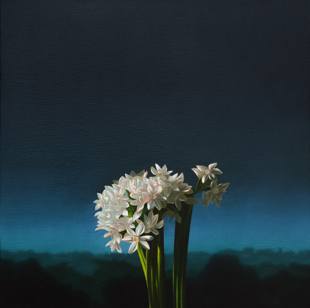 , 'Narcissus Against Evening Sky,' 2013, Leslie Sacks Gallery